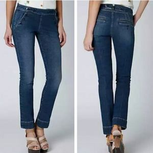 #100 pilcro and the letterpress jeans,  size 31